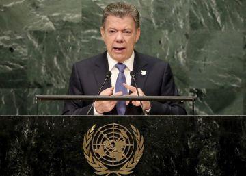 Santos celebra en la ONU el fin de la guerra en Colombia
