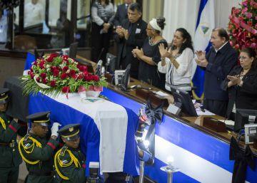 Un muerto preside el Parlamento de Nicaragua