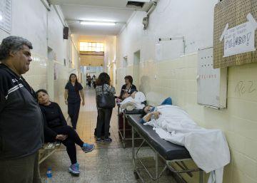Os hospitais dos arredores de Buenos Aires em estado crítico