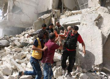 El régimen sirio aplasta Alepo en una ofensiva general