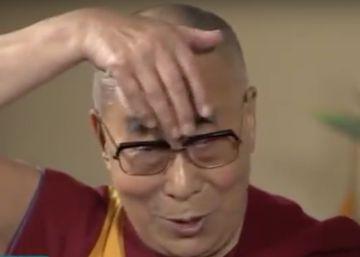 El Dalai Lama caricaturiza a Donald Trump