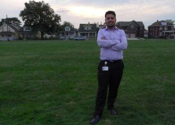 Visita electoral a las mezquitas en la capital musulmana de los Estados Unidos