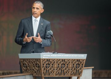 """Obama inaugura un museo para """"entender el dolor"""" de los afroamericanos"""