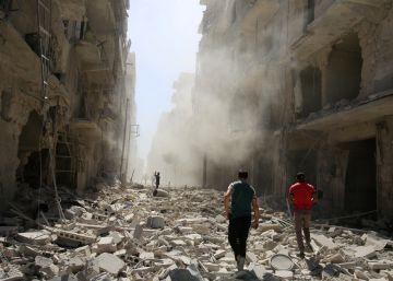 """Estados Unidos acusa a Rusia de actos de """"barbarie"""" en Siria"""