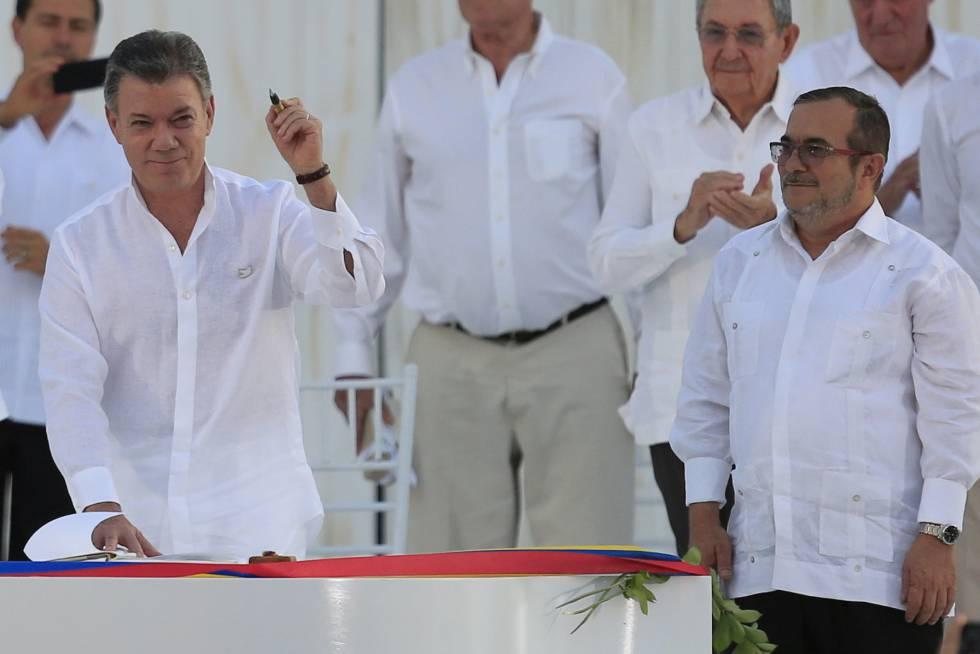 Así fue la firma del acuerdo de paz 2016 en Cartagena, Colombia