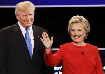 Clinton ganó a Trump el primer asalto, según un sondeo de CNN
