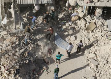 El Ejército sirio lanza una ofensiva terrestre contra las zonas rebeldes de Alepo