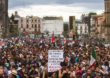 México vuelve a las calles por los 43 estudiantes de Ayotzinapa
