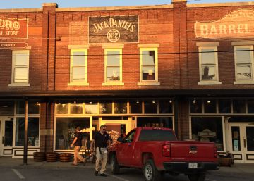 El pueblo de Jack Daniel's en el que no se puede beber