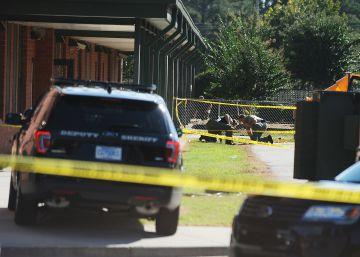 Dos niños heridos tras un tiroteo en un colegio de primaria en Carolina del Sur