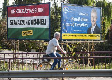 Refugiados como terroristas en potencia y otros mensajes del Gobierno húngaro