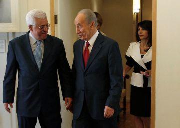 El presidente palestino prevé asistir al funeral de Peres en Jerusalén
