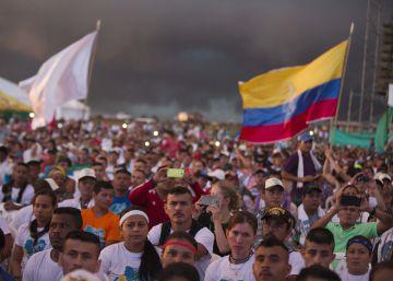 ¿Quién se arrodilló en Colombia?