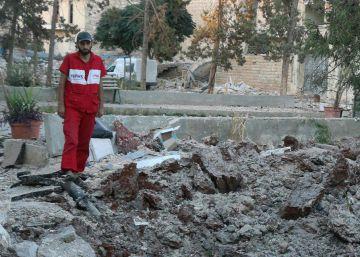 Los bombardeos golpean el principal hospital de la zona rebelde de Alepo