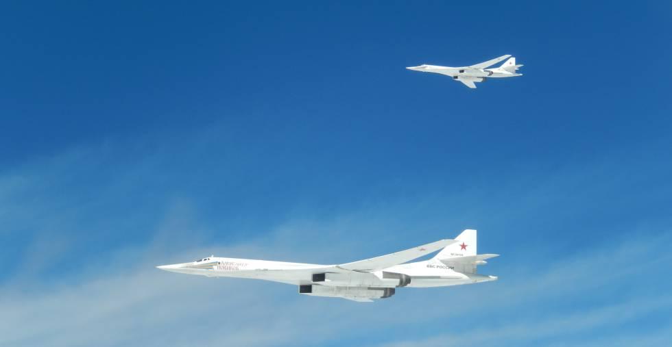 Los dos aviones fueron escoltados sucesivamente por aeronaves de Noruega, Reino Unido, Francia y España.