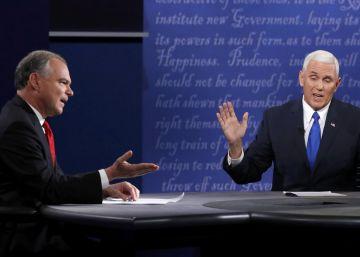 Debate entre los candidatos a vicepresidente en las elecciones de Estados Unidos 2016 | EN VIVO