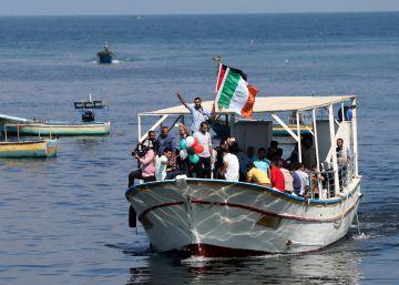 Israel intercepta un barco con activistas propalestinas frente a las costas de Gaza