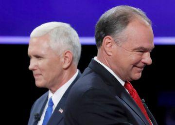 Pence da un respiro a los republicanos tras los exabruptos de Donald Trump