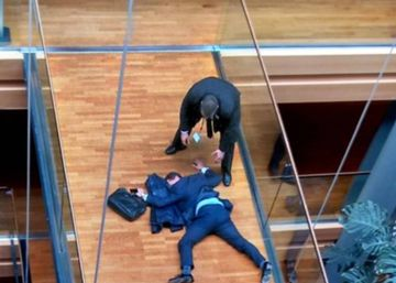 Un europarlamentario del UKIP, hospitalizado tras un altercado