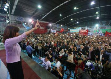 Cristina Kirchner arranca su campaña para las elecciones de 2017