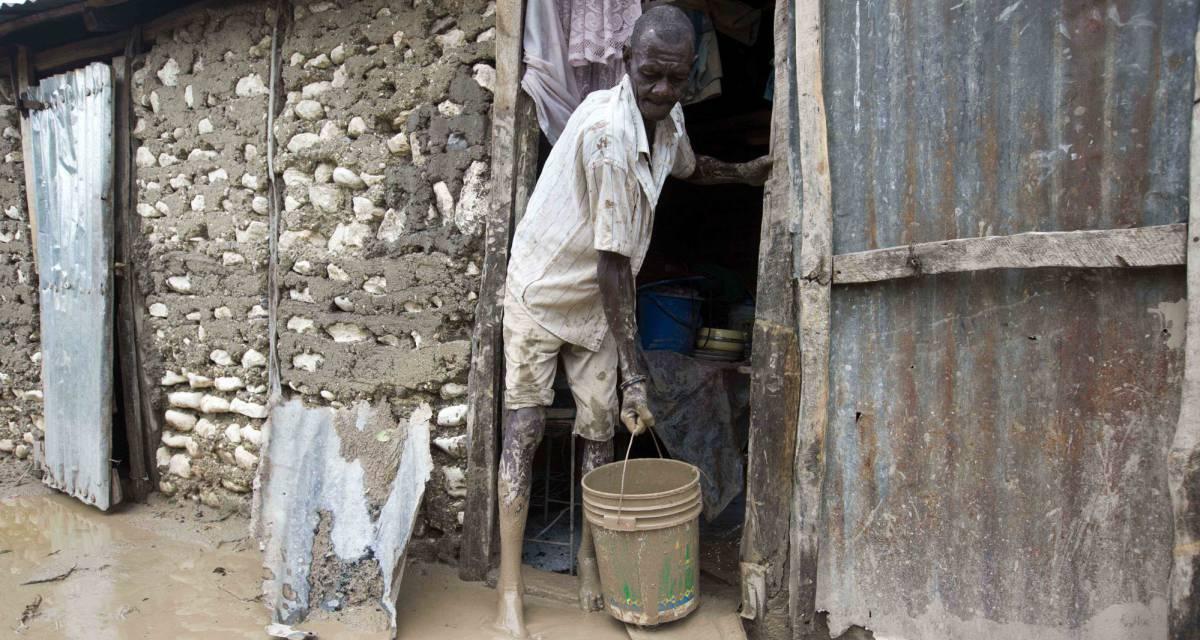 Los daños por el huracán podrían provocar un repunte del cólera en Haití
