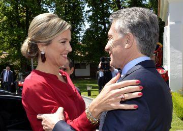 Argentina, una república sin nobles, recibe con entusiasmo a Máxima, su única reina
