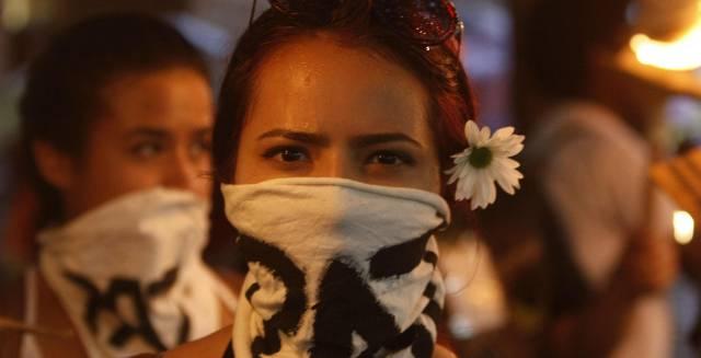 Marcha por la paz en Medellin