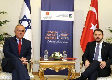 El gas contribuye al deshielo entre Turquía e Israel
