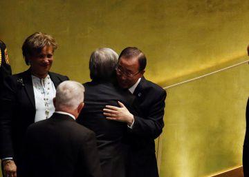 La ONU refrenda a Antonio Guterres como secretario general
