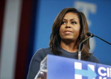 """Michelle Obama: """"Puedo decir que los hombres de mi vida no hablan así sobre las mujeres"""""""