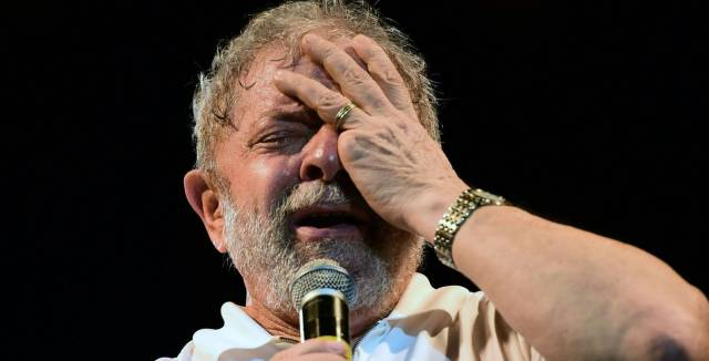 Luiz Inácio Lula Da Silva at a recent event.