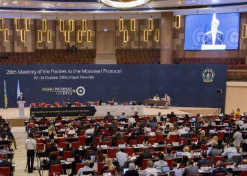 Acuerdo mundial para reducir un potente gas de efecto invernadero
