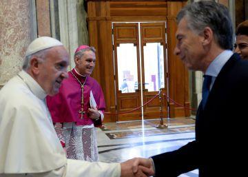 El Papa y Macri apaciguan la política argentina
