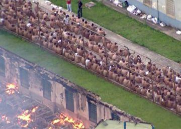 Los motines apuntan a un pulso entre grupos criminales en Brasil