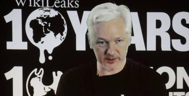 Julian Assange, el pasado 4 de octubre.