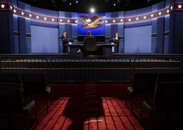 Trump invita al último debate presidencial al hermanastro de Obama