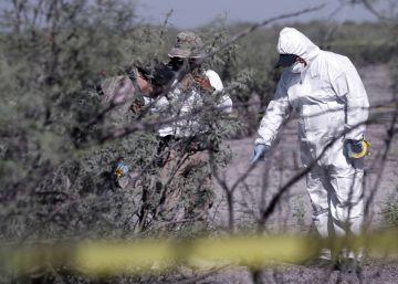 Hallados 4.600 fragmentos óseos en un campo de exterminio de Los Zetas