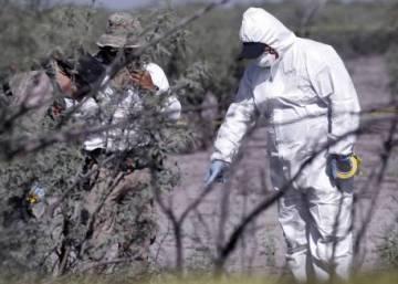 Hallados 4.600 fragmentos de cadáveres en un campo de extermino de Los Zetas