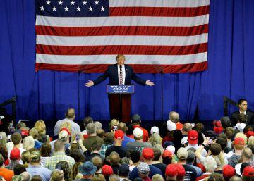 """Donald Trump: """"Aceptaré los resultados… si gano"""""""