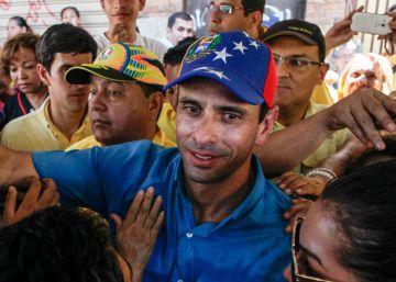 El gobernador del estado Miranda, Henrique Capriles.