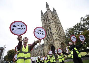 El Gobierno británico aprueba la expansión del aeropuerto de Heathrow