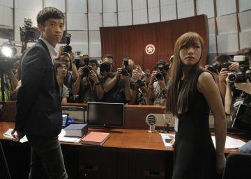 La polémica con los independentistas bloquea el Parlamento de Hong Kong