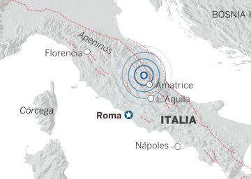 Dos fuertes terremotos sacuden el centro de Italia