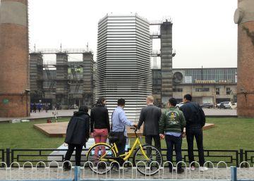 Un purificador gigante para limpiar el aire de Pekín