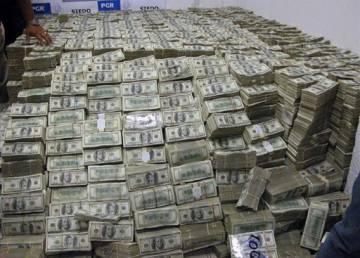 Cerca de 200 millones de dólares fueron confiscados en la casa de Gon