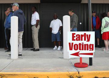 El voto por adelantado crece e impulsa a Clinton frente a Trump