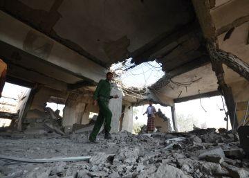 60 muertos en un bombardeo de la coalición árabe contra una prisión en Yemen