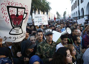La muerte de un vendedor ambulante desata las protestas en Marruecos