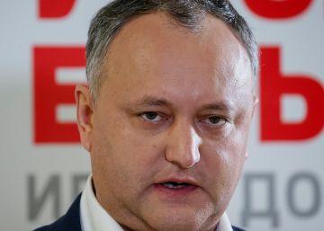 El candidato prorruso se perfila como ganador en Moldavia