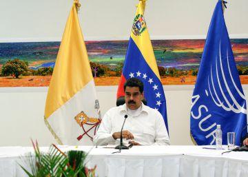 Uma oposição venezuelana dividida começa a negociar com o governo Maduro